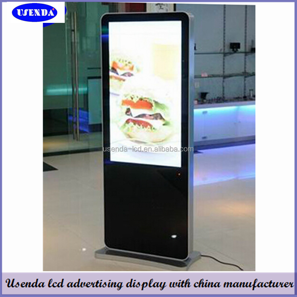 42inch Free Standing Led Advertising Digital Display Board With ...