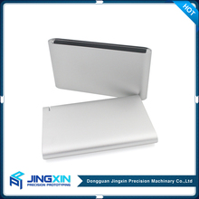 JINGXIN Cnc Milling Service Dual Usb Power Bank