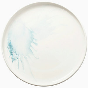porcelain dish platter custom white ceramic thali plate for sale