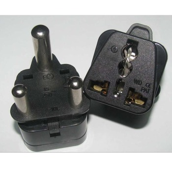 Se Ua10l Universal Travel Adapter Converter Socket To 3 Pin South African Plug