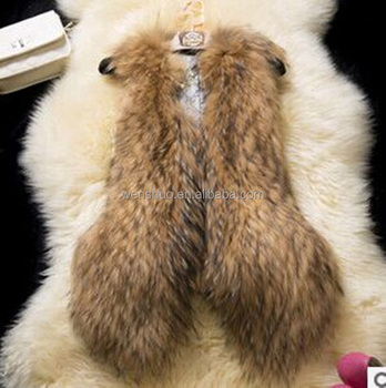China Suppliers Ladies Fur Faux Vest Coat Rabbit Fur Vest for Women