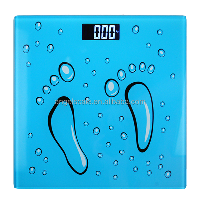 180kg Hot Sale 5mm Tempered Glass Most Accurate Bathroom Scales