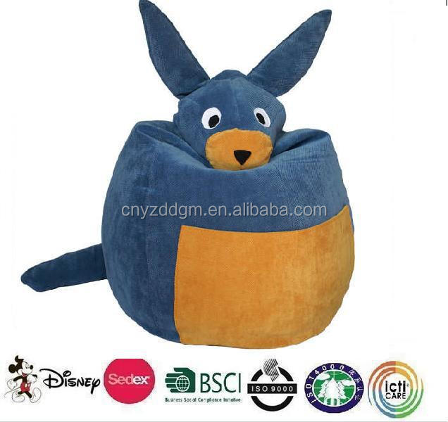 Cute Children Bean Bag Chair Bear Animal Shaped Plush Elephant