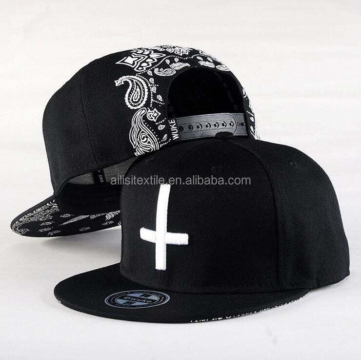 5e4d1071935e4 Fashion Design Mens Baseball Cap Black Design  Men Hip Hop Snapback Cap  Hat Custom