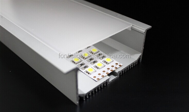 Recessed Led Lighting With Aluminum Profiles/ Indoor Led Ceiling ...