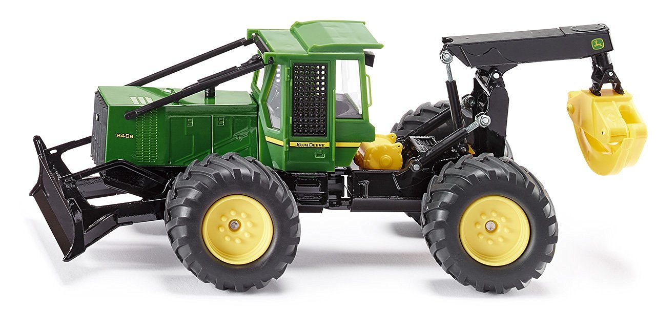 Get Quotations · 1:32 John Deere Skidder Tractor