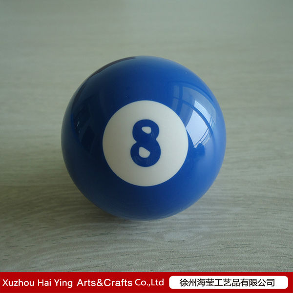 Resin Blue 8 Billiard Cue Ball