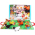 Baby Infant Toys Baby 3D Cloth Book Early Learning Educational Toys with Animals Tails English Story Development Books