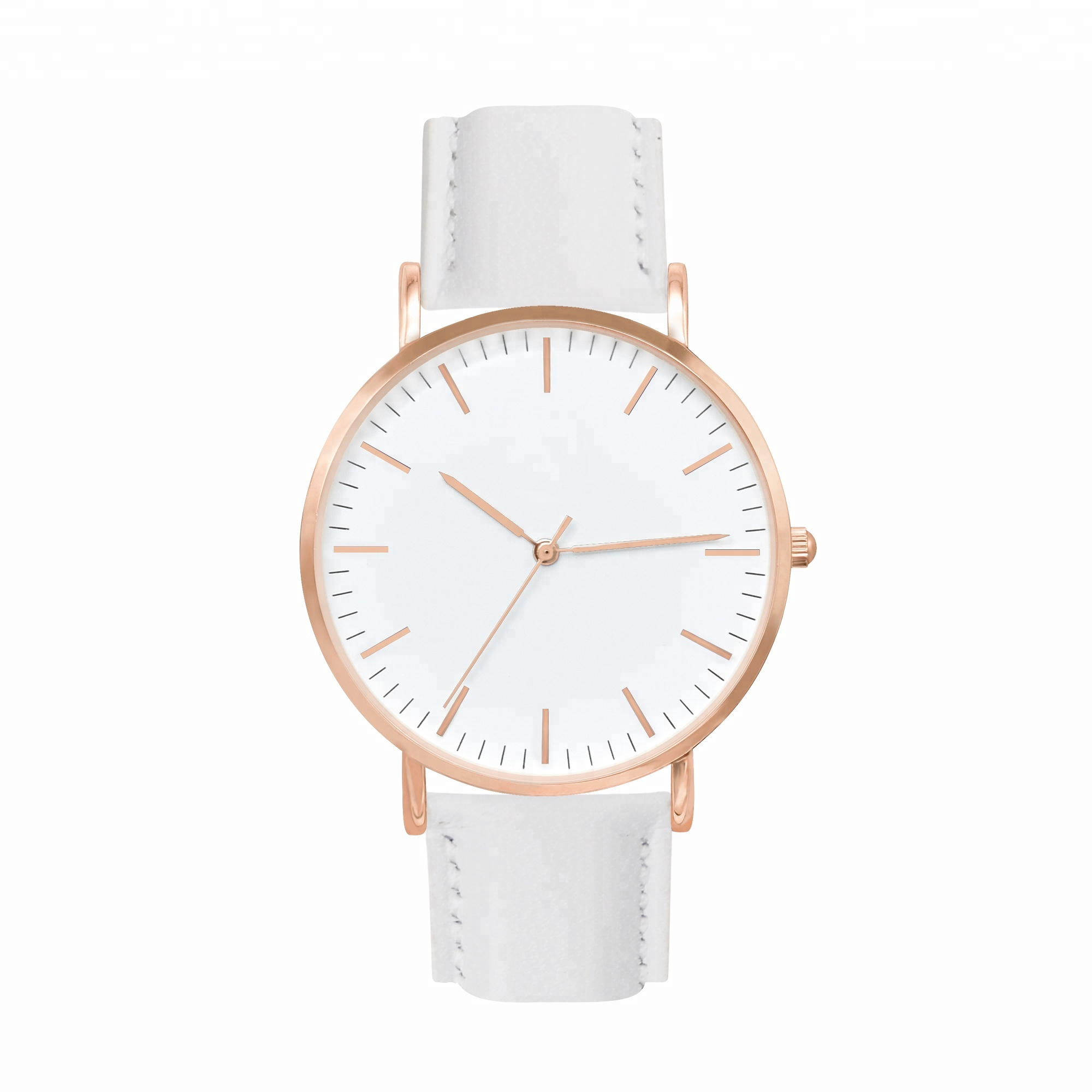 <strong>Hot</strong>! September Festival customized your logo withlow moq quality women leather watches