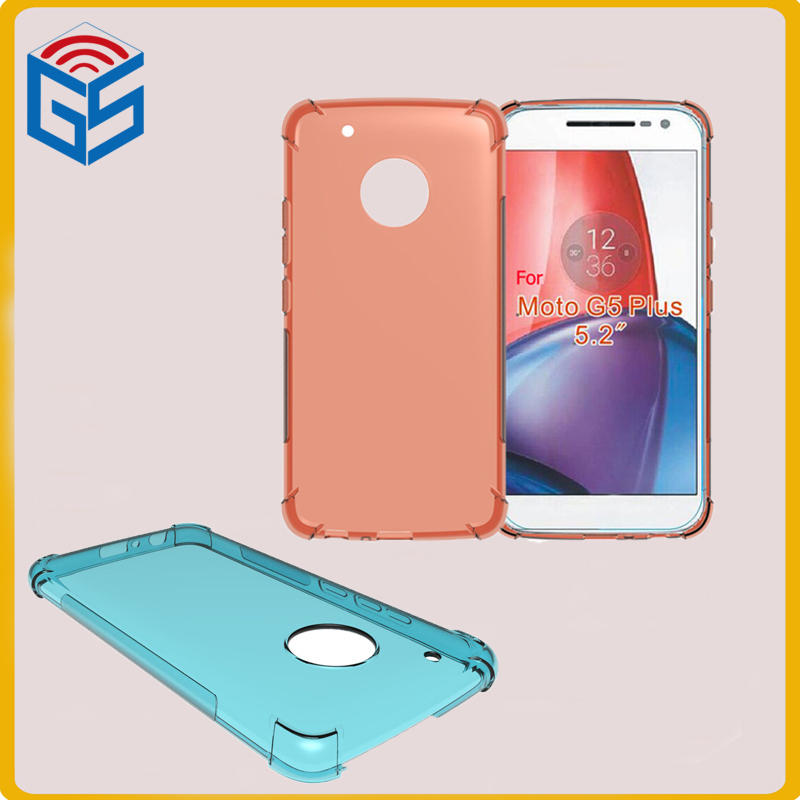 Shockproof TPU Clear Case <strong>Cover</strong> For Motorola For Moto G5 Plus XT1685 XT1686 XT1687