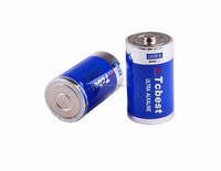 super alkaline battery size D lr20 am1, D lr20 alkaline battery with KC certification/