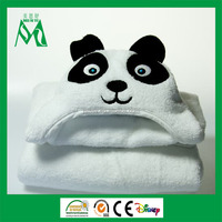 China supplier towelling fabric gift baby hooded bath towel bulk