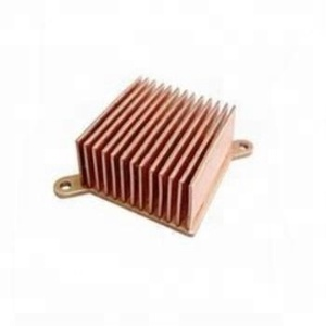 extruded copper cpu cooler heat sink