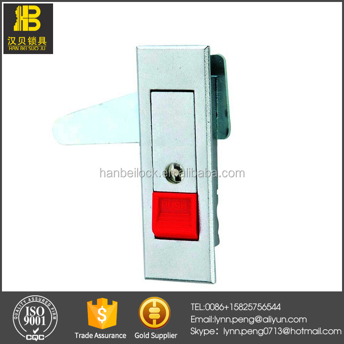 Ms603-1r Zinc Die-casting Red Push Button Lock Electric Cabinet Lock - Buy  Electric Cabinet Lock,Red Push Button Lock,Zinc Die-casting Lock Product on