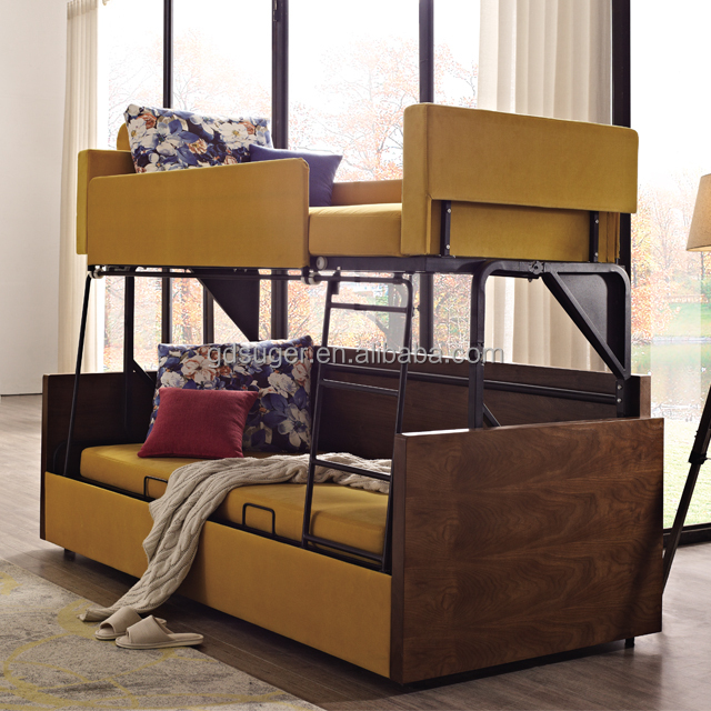 Folding Sofa Bunk Bed, Folding Sofa Bunk Bed Suppliers And Manufacturers At  Alibaba.com