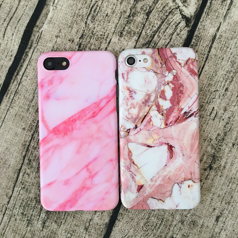 2017 newest IMD Marble Mobile Phone case for iPhone 7 plus, soft TPU Phone Cover