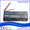 Wild scorpion flexible rc 4000mah 14.8v 10C high discharge rate lipo battery