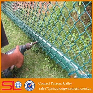 used paint chain link fence black for sale factory directly price welded