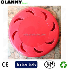 "logo printing dog good supplier PMS color 9"" cheap plastic frisbee"