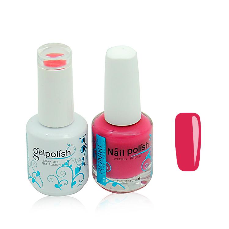 Roniki Nail Art Products Soak Off Perfect Match Color Gel Nail ...