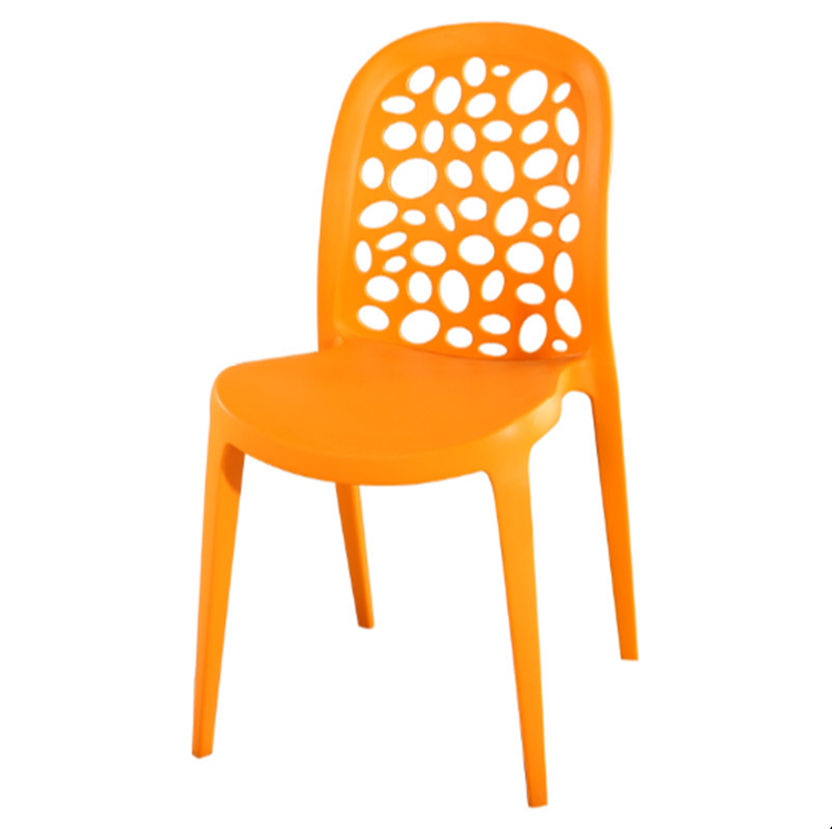 2018 New Design PP Plastic Dining Chair Restaurant Stackable Chairs