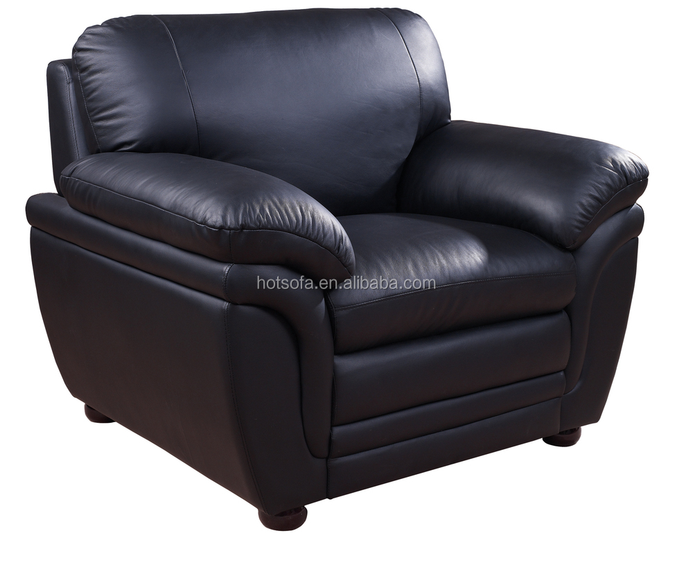 single sofa set home furniture tv single sofa single leather sofa h311