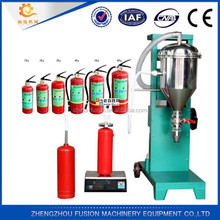 abc powder filling machine for fire extinguisher/fire extinguisher refill machine