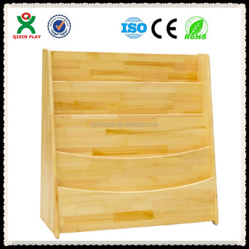 Solid Teak Bookshelfmodern Tree Shaped Bookshelf For SaleQX 203B