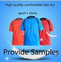L1432A Custom Women Men Printed T-shirts/OEM T-shirts/Cheap Wholesale fast dry sport T-shirts