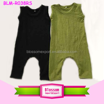 3a516b59793 New Style Baby Boys Jumpsuits Cotton Kids Boys Black Harem Pants Romper -  Buy Harem Romper