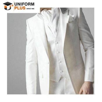 High quality wedding best man suits for men white
