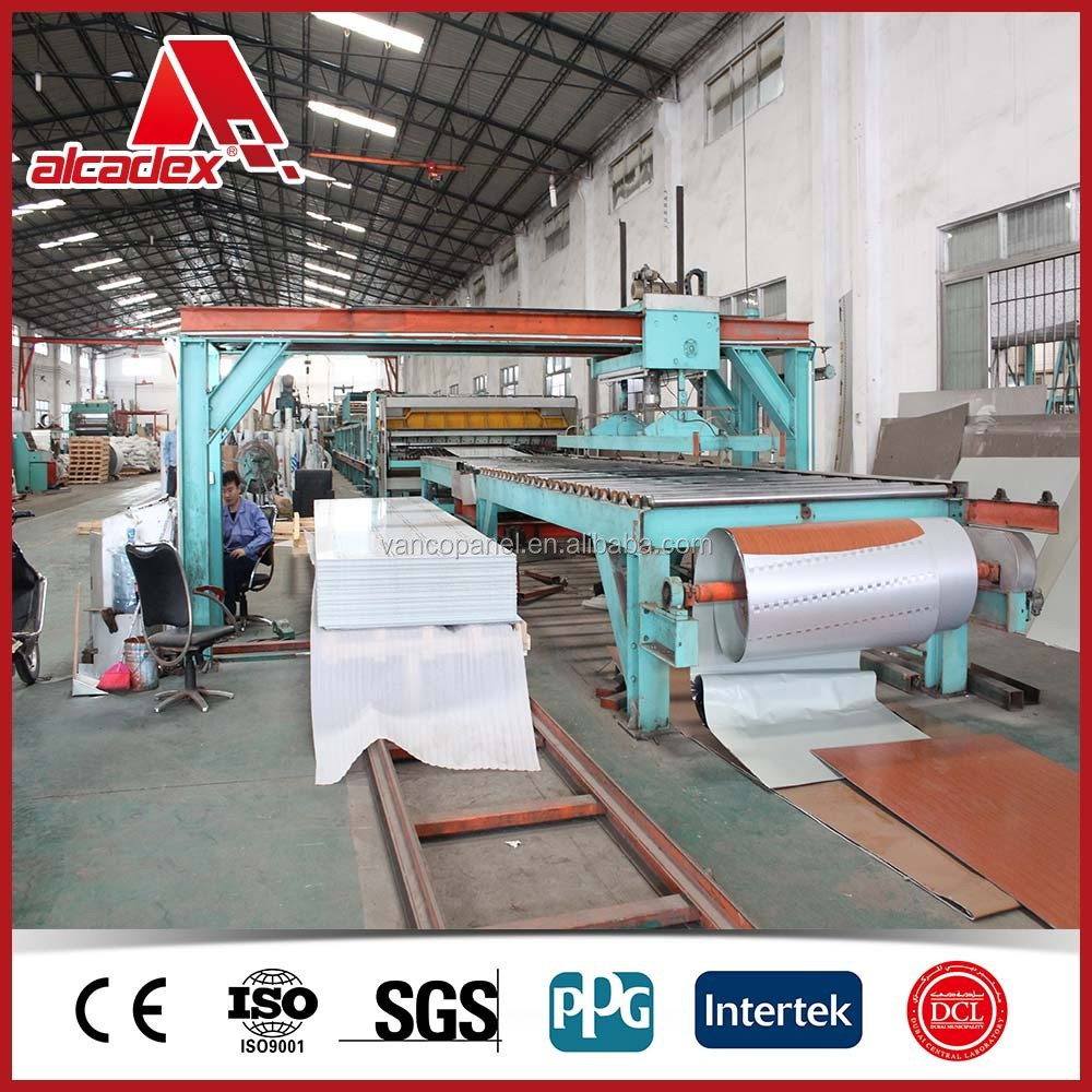 indoor /outdoor/PE/PVDF coating acm/acp/acp production line