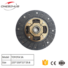 High friction coefficient clutch plate TYD009U 31250 - 12370 31250 - 20280 5A clutch disc