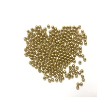 Customize solid brass ball copper beads 1mm 1.2mm 2mm 2.38mm