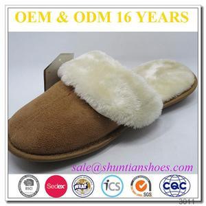 b8e3343170281 Sheepskin Scuff Slippers, Sheepskin Scuff Slippers Suppliers and  Manufacturers at Alibaba.com