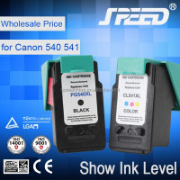Supreme quality ink cartridge for canon PG540 and CL541 worked in MG2100 MG2200 MG3100 MG3200