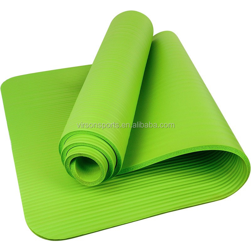 Ningbo Virson High density eco-friendly custom print NBR yoga mat