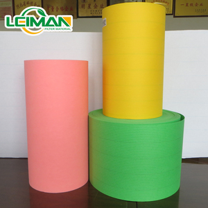 automotive air filter paper Motorcycle pleating flame retardant air filter paperHigh dust holding capacity filter paper