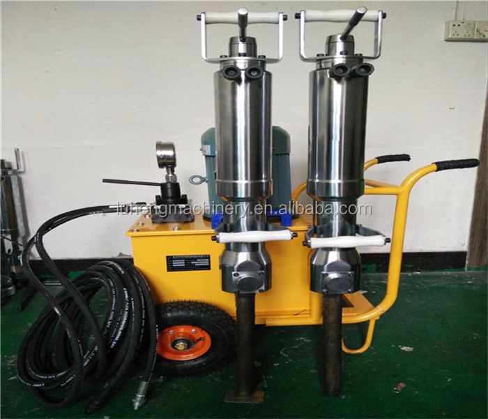 Diesel Stone splitter,drilling rock machine,hydraulic rock splitter for sale