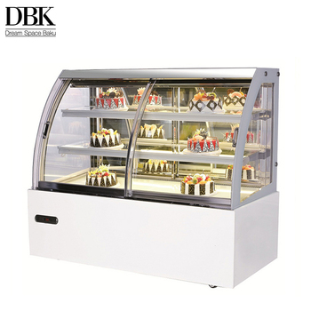 China wholesale products glass display shop refrigerator 1.2m commercial cake cake showcase