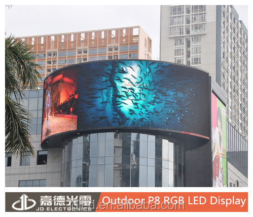 Outdoor ads Video Display P8 RGB SMD Display LED Billboards