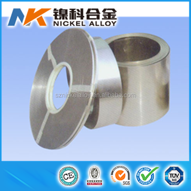 electric wire manufacturers nichrome pure nickel chrome heating flat strip cr20ni80 strip coil