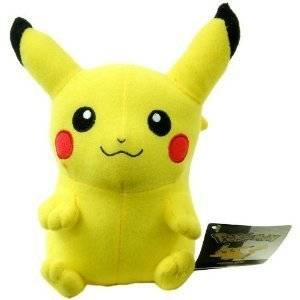 """2011 Pokemon Deluxe 18"""" Pikachu Plush Character Toy / Officially Licensed By Nintendo"""