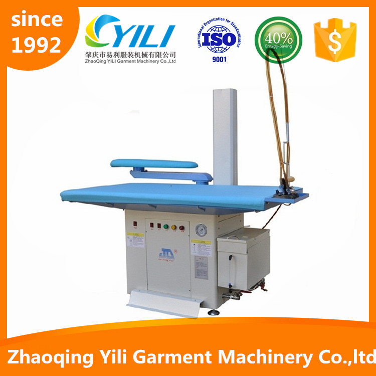vacuum steam generator steam iron press ironing machine board table with boiler