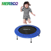 Indoor Professional Mini Kids Exercise Trampoline Bed With Different Sizes