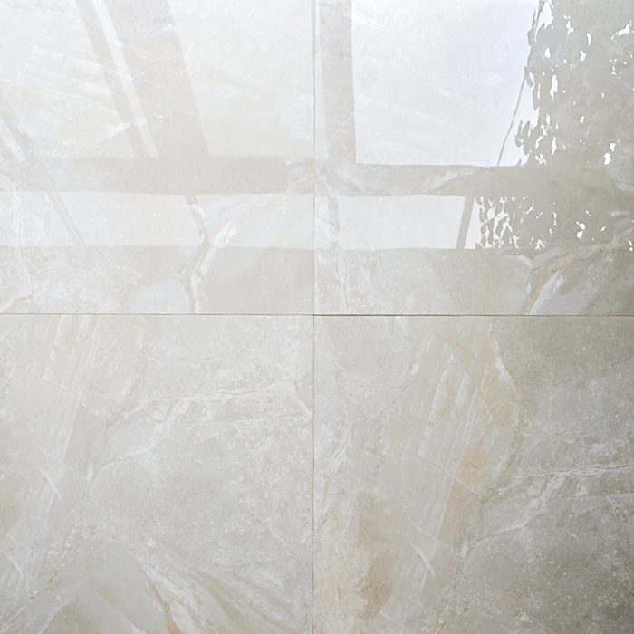 Hb6251 Big White Sparkle Euro Vitrified Floor Tiles