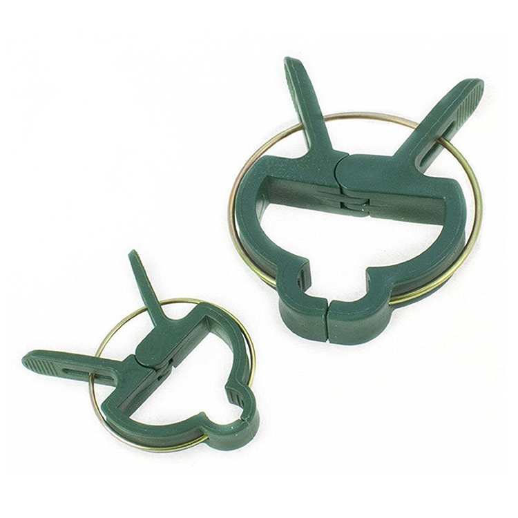 Garden Plant Support Plant Staking Clips for Vines Flower Clips for Gardening Supporting Stems Vines Stalks Flower Beds to Grow  HD9749369