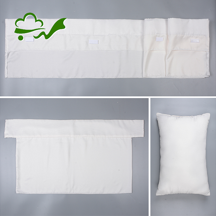 Yüksek kaliteli amerikan tarzı krep kadife kumaş toptan yumuşak özelleştirilmiş tabut yatak yetişkinler için