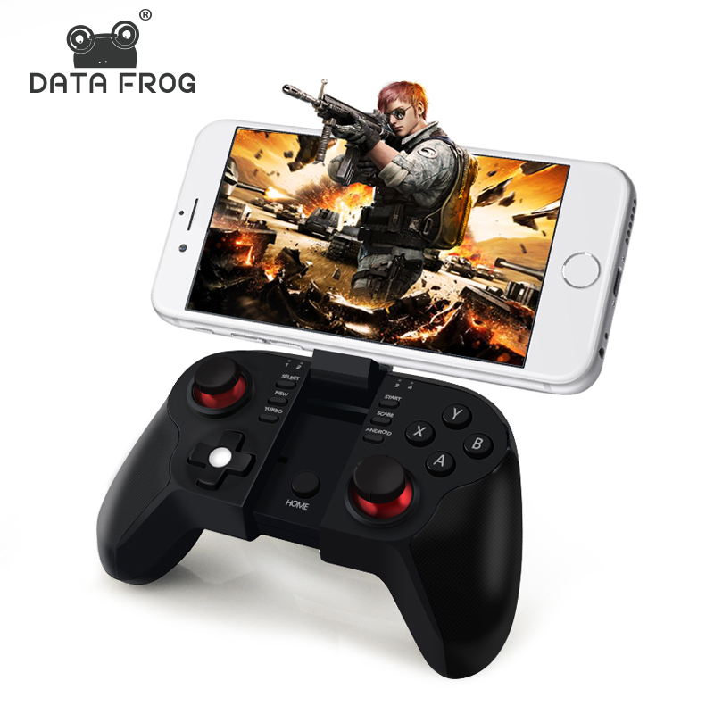 Data Frog VR <strong>Bluetooth</strong> <strong>Android</strong> Gamepad Wireless mobile gaming <strong>controller</strong> For Iphone IOS PC Smart TV Mini Gaming Gamepads