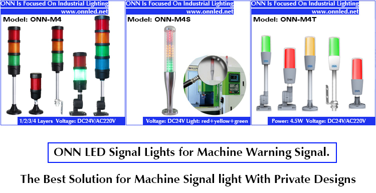 12 Volt Led Work Light Three Phase Indicator Lights